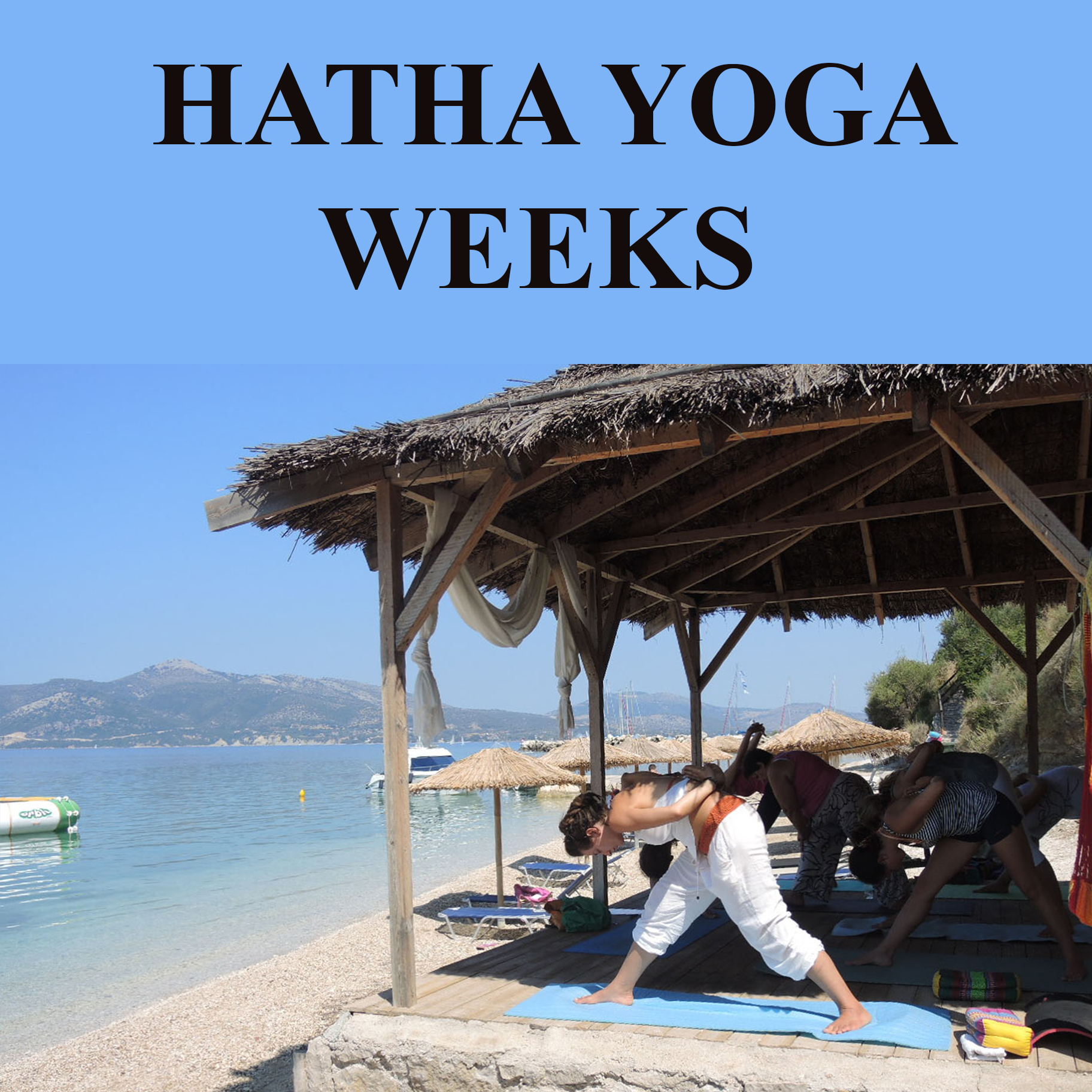 Hatha yoga and stay